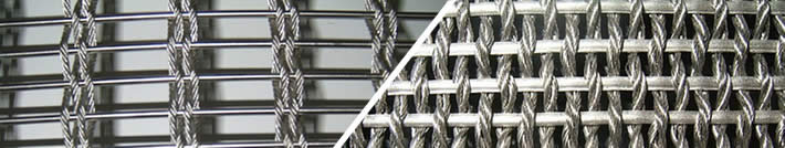 Decorative Wire Mesh Curtains, Ceilings, Facade in Architecture Design