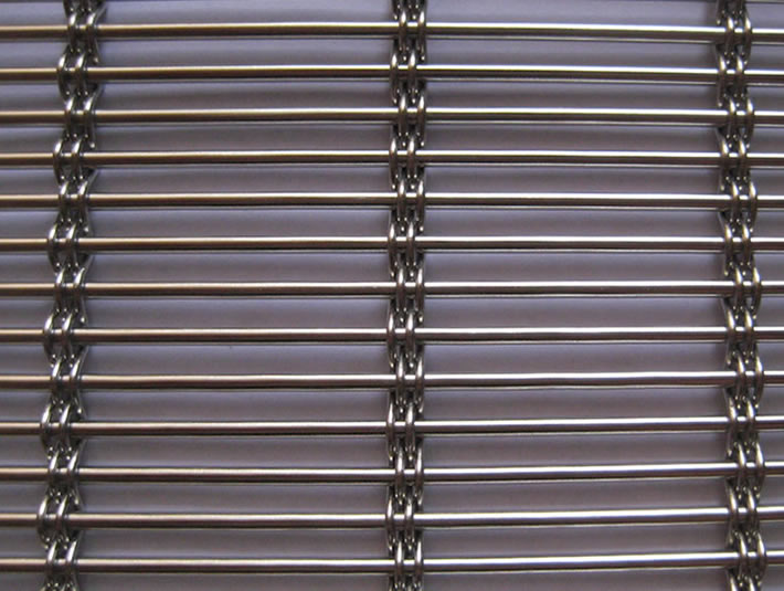 Stainless Steel Rod And Wire Rope Stranded Knit Mesh